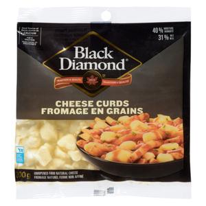 Black Diamond Cheese Curds 200 g