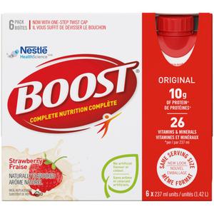 Boost Original Ready to Drink Strawberry 6 x 237 ml