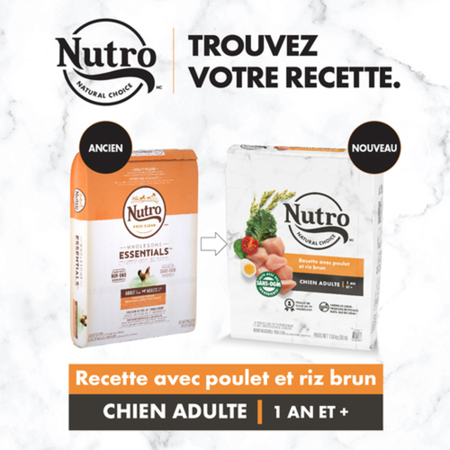 Nutro Natural Choice Small Breed Adult Chicken & Brown Rice Dry Dog Food 2.72 kg