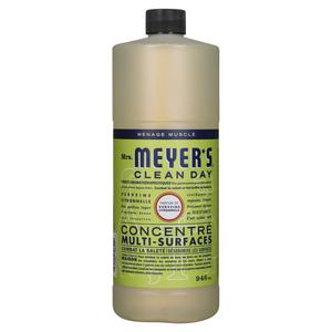 Mrs. Meyer's Clean Day Multi Surface Cleaner Lemon Verbina 370 ml