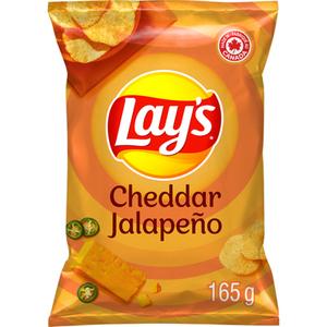 Lay's Potato Chips Cheddar Jalapeño 165 g