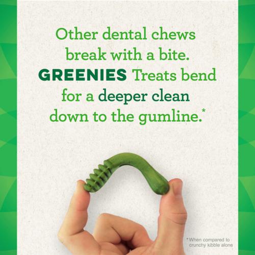 Greenies Original Teenie Natural Dental Care Dog Treats 43 Treats 12oz