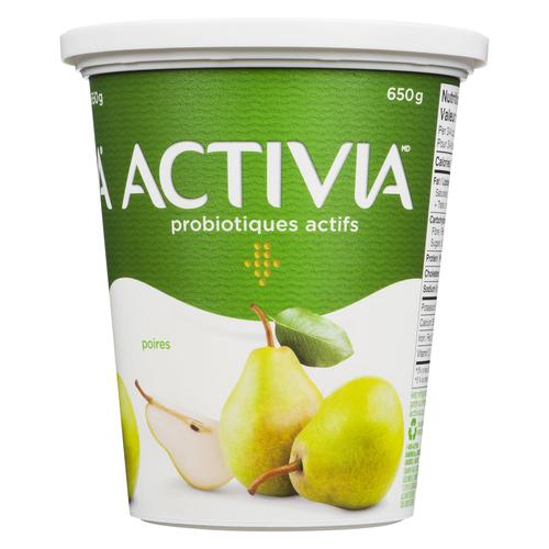Activia Pear Yogurt 650 g