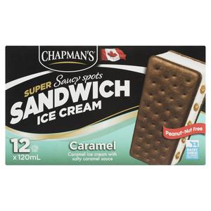 Chapman's Caramel Super Saucy Ice Cream Sandwich 120 ml