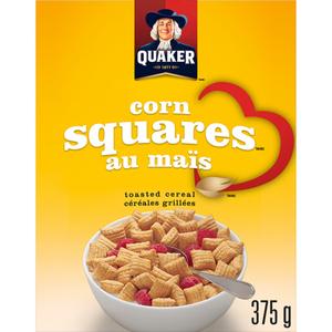 Quaker Cereal Corn Squares Bran 375 g