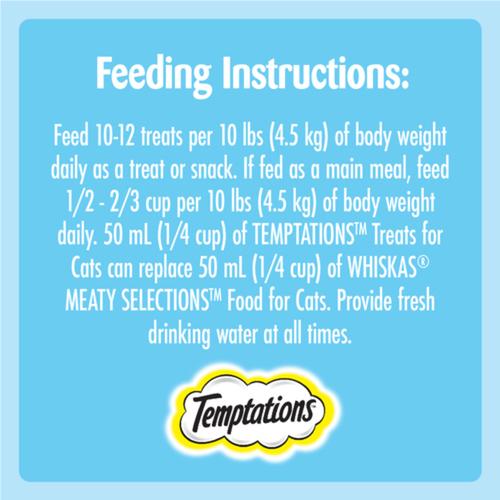 Whiskas Temptations Cat Treats Adult Tempting Tuna Flavour 180 g