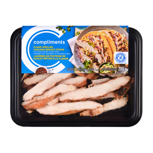Compliments Original Flame Grilled Chicken Breast Strips 200 g