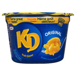 Kraft Dinner Macaroni & Cheese Snack Cups Original  58 g