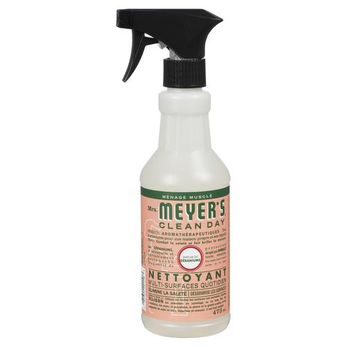 Mrs Meyer's Clean Day Multi Surface Cleaner Geranium 473 ml