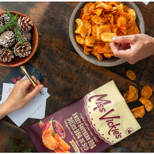 Miss Vickie's Kettle Cooked Potato Chips Sweet Southern BBQ 200g