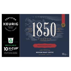 Folgers Coffee Pioneer Blend 10 K-Cups 105 g