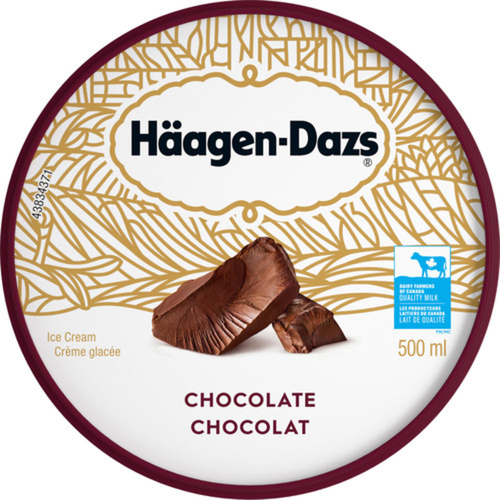 Häagen-Dazs Chocolate Ice Cream 500 ml