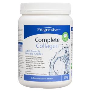 Progressive Complete Collagen Supplements Unflavoured 500 g