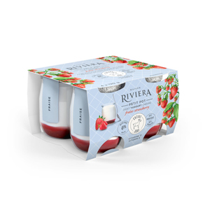 Riviera Goat Yogurt Strawberry 4 x 120 g