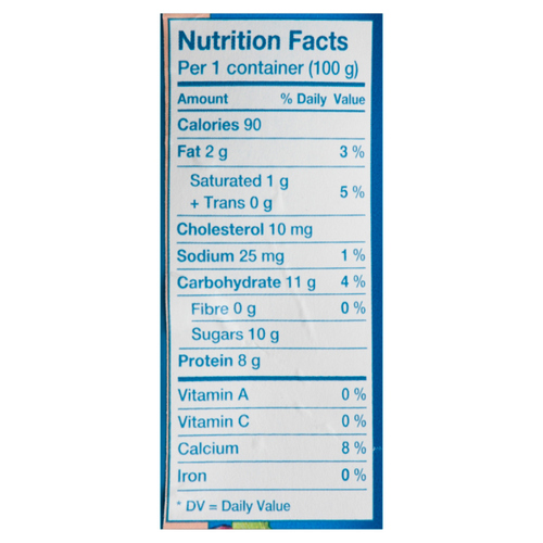 Oikos 2% Greek Yogurt Strawberry Banana 4 x 100 g