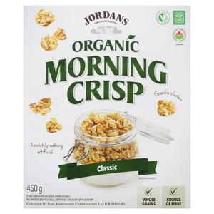 Jordan's Organic Morning Crisp Classic 450 g