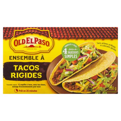 Old El Paso Hard Taco Dinner Kit 250 g