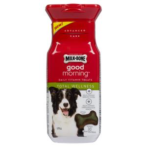 Milk-Bone Good Morning Total Wellness Dog Vitamins 170 g