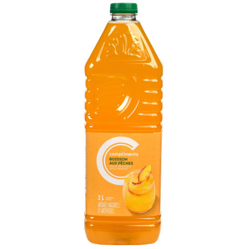 Compliments Peach Drink 2 L