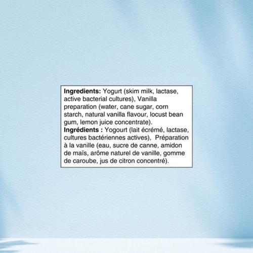 Oikos Lactose Free 0% Greek Yogurt Vanilla 4 x 100 g
