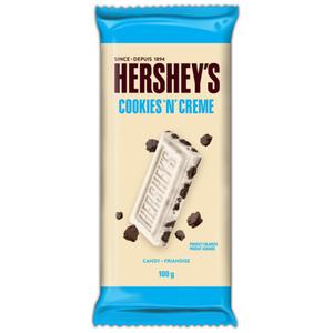 Hershey's Chocolate Bar Cookies N Cream Family Size 100 g