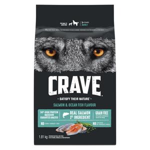 Crave Dog Food Salmon & Ocean Fish 1.81 kg