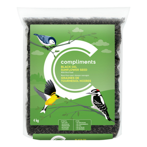 Compliments Black Oil Sunflower Seed 4 KG