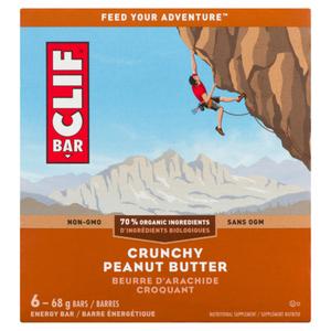 Clif Energy Bar Crunchy Peanut Butter 6 x 68 g