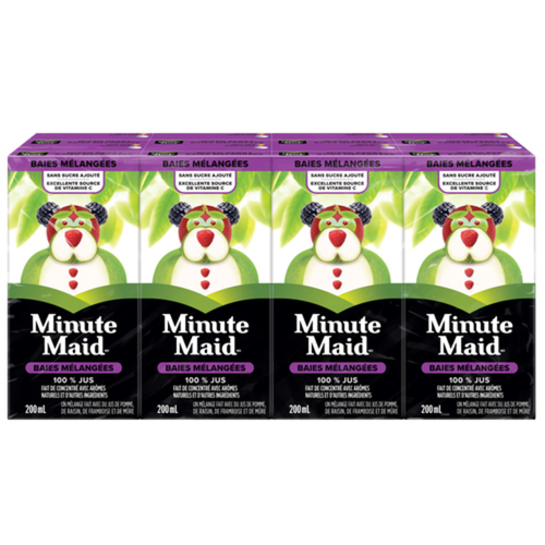 Minute Maid Juice Mixed Berry 8 x 200 ml
