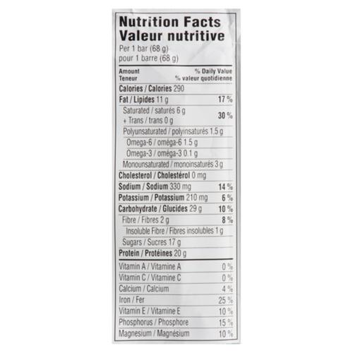 Clif Builders Protein Bar Peanut Butter 68 g