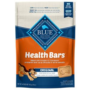 Blue Buffalo Pumpkin & Cinnamon Health Bars Dog Treats 454g