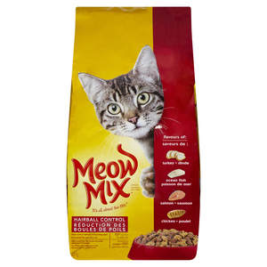 Meow Mix Hairball Control Cat Food 3.2 kg