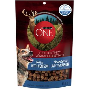 O/N/E True Instinct Dog Bites Venison 198 g