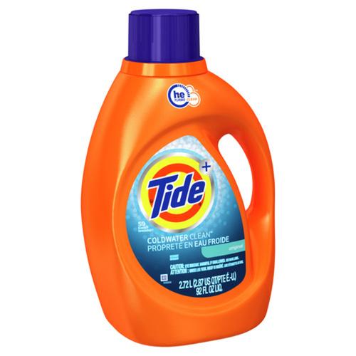 Tide Liquid Cold Water Laundry Detergent Original Scent 2.72 L
