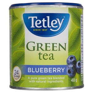 Tetley Blueberry Green Tea 24 EA