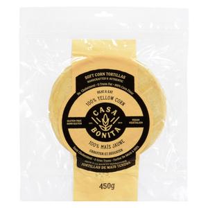 Casa Bonita Yellow Tortillas 8-inch 450 g