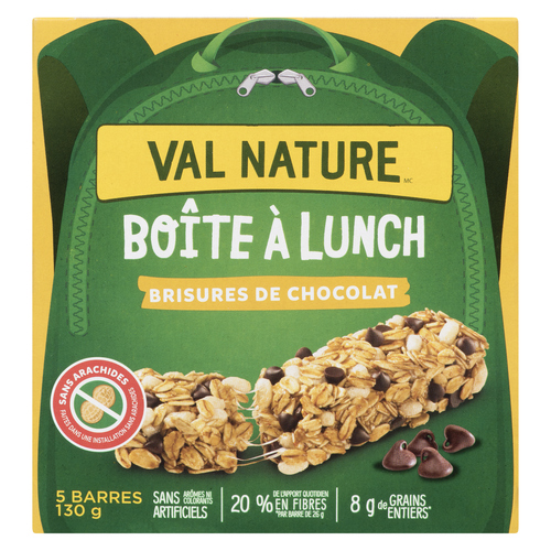 Nature Valley Lunch Box Chocolate Chip  Chewy Granola Bars 5 x 26 g