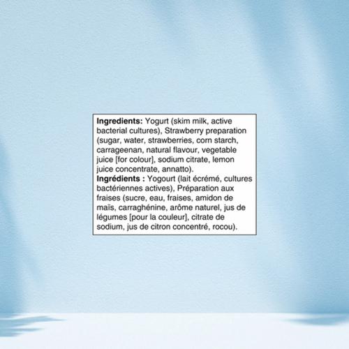 Danone Oikos 0% Yogurt Strawberry 750 g