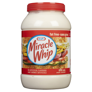 Miracle Whip Fat Free 890 ml