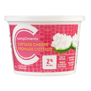 Compliments Cheese 2% Cottage 500 g
