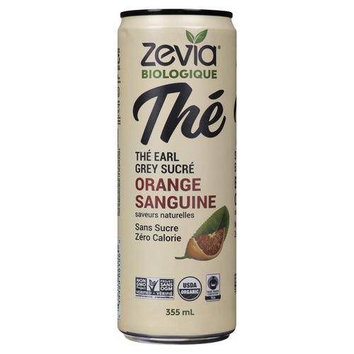 Zevia Organic Earl Grey Blood Orange Tea 355 mL