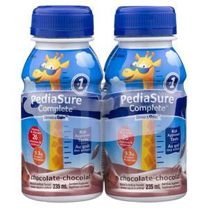 PediaSure Complete Supplement Drink Chocolate 4 x 235 ml