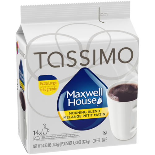 Maxwell House Coffee Pods Morning Blend 14 Tassimo Pods