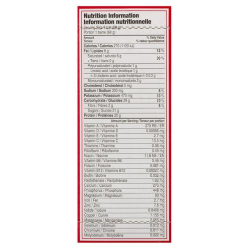 Clif Builder's Gluten-Free Protein Bar Chocolate 6 x 68 g