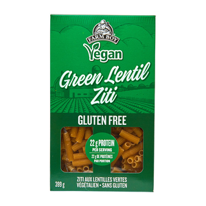 Farm Boy Vegan Pasta Green Lentil Ziti 399 g