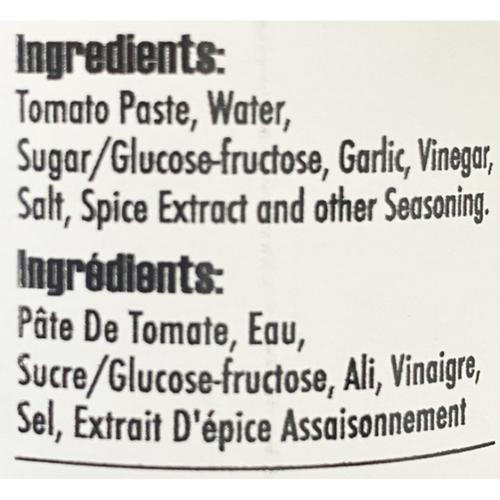 Twisted Tomato Ketchup Garlicious 355 ml