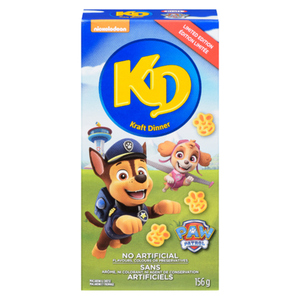 Kraft Dinner Macaroni And Cheese Popular Shapes 156 g