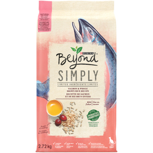 Purina Beyond Simply Dry Cat Food Salmon & Whole Brown Rice 2.72 kg
