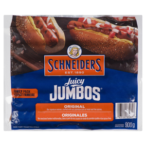 Schneiders Juicy Jumbos Original Wieners Family Pack 900 g