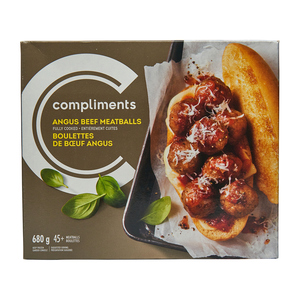 Compliments Meatballs Angus Beef 680 g